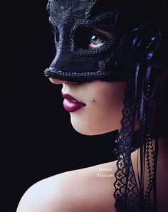 Masked, We can hide behind a mask but eventually the need to remove the mask to your true self will over power.