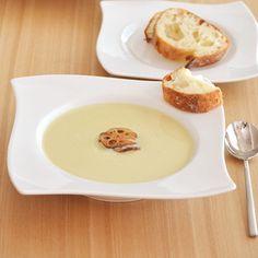 広めのウェーブデザインのリムがホテル食器のような高級感を醸し出しているスープ皿♪ https://room.rakuten.co.jp/room_jp/1700011798770350?scid=we_rom_pinterest_official_20170215_r1