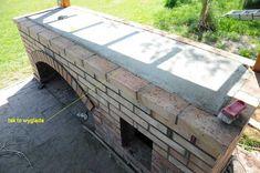 grillo wędzarnia projekt by buc Outdoor Bbq Kitchen, Outdoor Barbeque, Pizza Oven Outdoor, Bbq Grill Diy, Grilling, Brick Bbq, Villa, Entryway Tables, Pergola