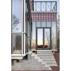 """de vylder vinck taillieu on Instagram: """"House LEEFDAAL. L, 2017. Photo Filip Dujardin. #devyldervincktaillieu"""" Windows, House, Room, Instagram, Furniture, Home Decor, Architecture, Bedroom, Home"""