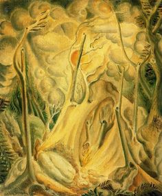 Andre Masson: Landscape with Rocks 1923