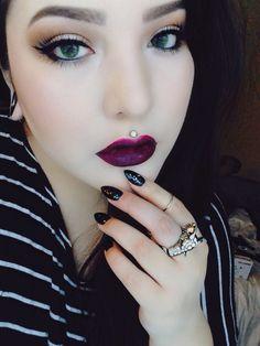 medusa piercing | Tumblr