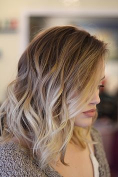 Balayage Hairstyle Blonde