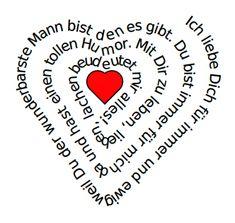 Dein persönliches Gedicht zum Valentinstag - automatisch in Herzform! So gehts ...
