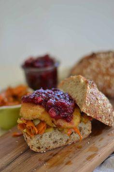 Fresh Cranberry Holiday Sandwich