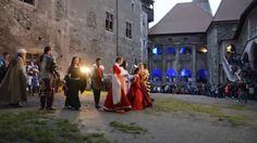 Dans medieval la Castelul Huniazilor