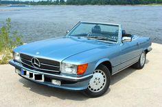 Mercedes 300SL R107 Traumwagen mieten für Fans, zur Hochzeit, Geburtstag…  als Geschenk!!!
