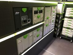 Festool Systainer, Van Racking, Wood Furniture, Lockers, Locker Storage, Trucks, Shop, Home Decor, Tools