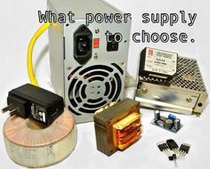 Every electronic or electric project needs power, but how to select what kind of power supply you project needs.