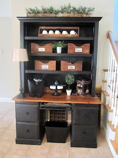 I Could Spend Hours Exploring, One Of The BEST Organizing Ideas Sites Iu0027ve  · Coffee Bar HomeCoffee ...
