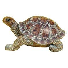 DecMode Tortoise Garden Sculpture - 98281