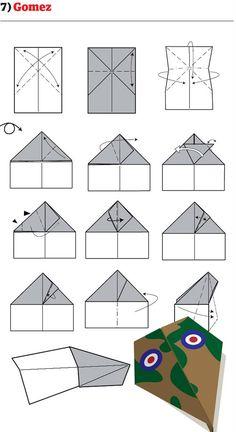 instruction avion papier mode emploi pliage 07 12 instructions pour plier des avions en papier originaux