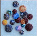 polymer clay buttons from polymer clay molds