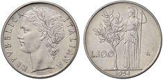 NumisBids: Nomisma Spa Auction 50, Lot 492 : Repubblica italiana (1946-) 100 Lire 1954 Prova – P.P. manca AC (g...