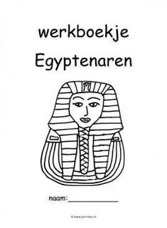 Dit werkboekje in verschillende thema's kun je downloaden op de website van Juf Milou. Dutch Language, Ancient Egypt, Worksheets, History, Website, Pdf, Image, Footprint, Museums