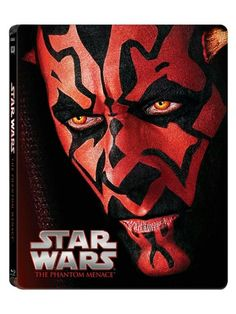 Star Wars The Phantom Menace Steelbook Blu-ray Collection(2015)