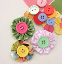 Hope & Gloria: Fab Fabric Flower Tutorial