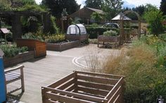 "Dementia Sensory Gardens.""To forget how to dig the earth and to tend the soil is to forget ourselves"" -Ghandi"