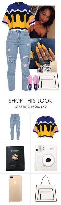 """""""i got money everywhere"""" by mxnvt ❤ liked on Polyvore featuring Emilio Pucci, Royce Leather, Fendi and Vans"""