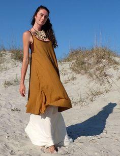 Gaia Conceptions - Racer Back Tank Wanderer Short Dress, $145.00 (http://www.gaiaconceptions.com/racer-back-tank-wanderer-short-dress/?page_context=category