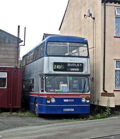 "Fleetline is neatly parked off Arch Hill Street, Netherton (better know as the back of ""Ma Pardoe's"" pub) condition could be described as 'distressed' Volkswagen Bus, Vw Camper, Express Bus, Blue Bus, Double Decker Bus, Birmingham Uk, Road Rage, Bus Coach, Education Architecture"