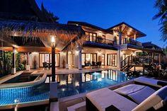 modern thai architecture images | Oasis Villa - Koh Samui villas