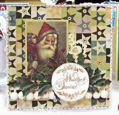 Karta Świąteczna z Mikołajem