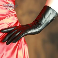 42.11$  Know more - KLSS Brand Genuine Leather Women Gloves High Quality Goatskin Gloves Top Trend 30cm Long Elegant Lady Sheepskin Glove 838   #buyininternet