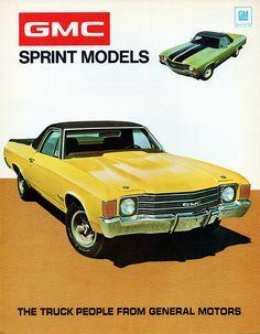 1972 GMC Sprint Models