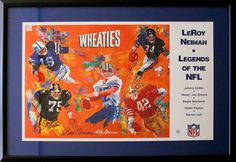 "NFL Legends signed by: Walter Payton, Roger Stauback, Johnny Unitas, ""Mean"" Joe Greene & Ronnie Lott, Look NOW!  http://www.payitforwardauction.com/merch.php?id=12489695"