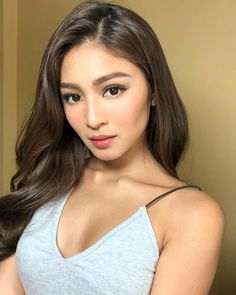 Nadine For Showtime (ctto) Asian Celebrities, Beautiful Celebrities, Gorgeous Women, Celebs, Nadine Lustre Makeup, Lady Luster, Filipina Girls, Liza Soberano, Jadine