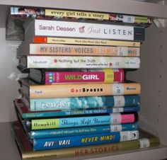 I love book spine poetry. Think I will do a display of this at the library for National Poetry Month (held in April every year).