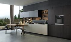 Fitted kitchens | Kitchen systems | Phoenix | Varenna Poliform. Check it out on Architonic
