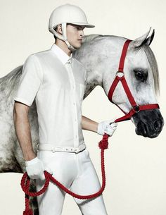 www.pegasebuzz.com   The Horse Fashion : Raquel Zimmermann & Romulo Pires for Animale Fall Winter 2011