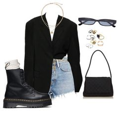 Kleider This outfit is NICE! However I would not put on it with Doc Martens. Kpop Outfits, Mode Outfits, Stylish Outfits, Girl Outfits, Fashion Outfits, Womens Fashion, Fashion Trends, Doc Martens, Dr Martens Outfit