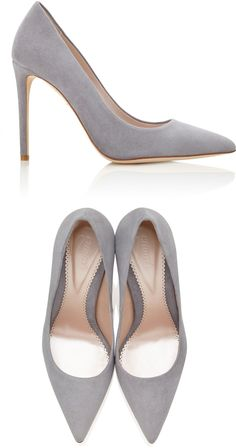 a2b2f1c829c9 Emmy London  Rebecca  courts in steel grey suede Kate Middleton Shoes