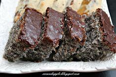 Eve and Apple: Csokis mákos süti Poppy Cake, Hungarian Recipes, Love Cake, Cake Cookies, No Bake Cake, Bakery, Good Food, Dessert Recipes, Food And Drink