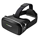 VR Headset, ELEGIANT 3D VR Glasses Virtual Reality Headset for 3D Movies and Video Games, Works with iPhone 7 Plus 6 Plus 6s Samsung S7 S6 Edge and Other Smartphones - 1st Generation VR Headset