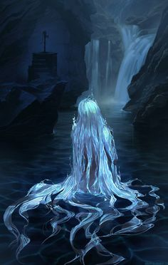 Water Spirit by houvv on @DeviantArt