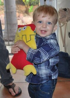 A new best friend! A Cuddle Wumkins silly monster made by BSL Creations.