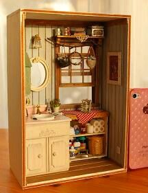 Miniatura tiempo Dollhouse de COCO - -
