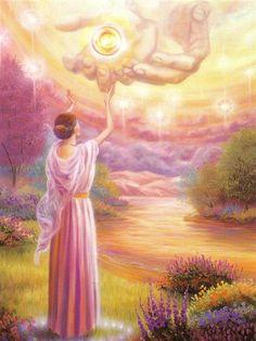 Cette prière est vouée à libérer en vous ce que vous retenez inconsciemment. Pour sa formulation je vous conseille de vous relier à ce que vous souhaiter débloquer en vous. Mettez-le devant vous juste avec l' intention, branchez votre cœur de la même manière, vivez la prière et laissez la lumière opérer.