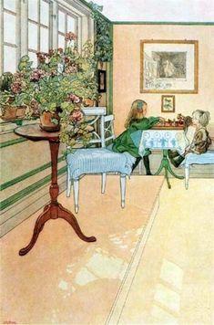 칼 라르손 Carl Larsson - 동화같은 일상 : 네이버 블로그