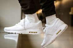 Nike Air Max Zero  All White Cheap Nike Shoes Online 7064e3a3d