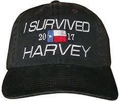 c8db4e5c060 TEXAS UNSINKABLE ~ Adjustable Distressed Black Hat   Cap at Amazon Men s  Clothing store