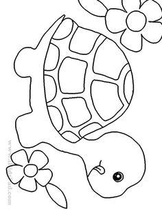Resultado de imagen de patron tortuga infantil
