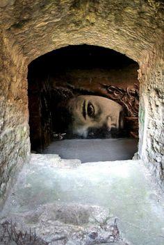 Liliwenn x Djalouz Mural In Brest, France street art