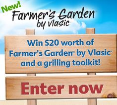 Want free Farmer's Garden by Vlasic pickles and a grilling toolkit? Of course you do. Click this image to enter for a chance to win with my friends at @celebrations.com - good luck, folks!