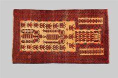 Antique Baluch Rug 150x85cm - Sharafi and co-43530: Itshandicraft.com: Sharafi & Co