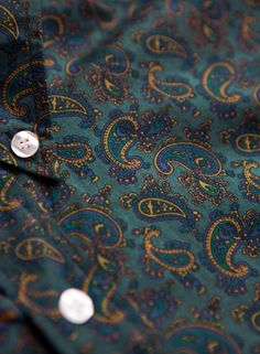 Paisley Shirt Green